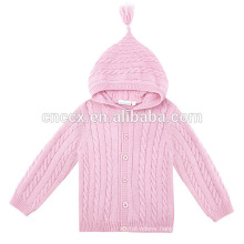 15STC6716 pure cashmere children coat