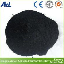 Madera basado carbón activado farmacia fila materiales poros grandes