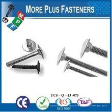 Made In Taiwan Structural System Steel Connection Step Bolts Carbon Steel Zinc Plated