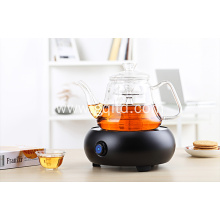 Chinese glass Electric Tea Maker with electroceramics plate