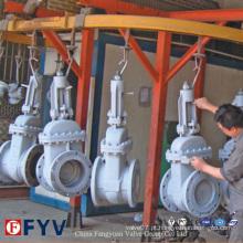 API6d Manual Válvula de Porão em Cunha de Aço Fundido