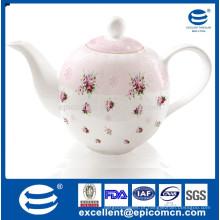 Highquality cerâmica bule kung fu estilo pote de chá turco