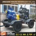 Bomba de água de refrigeração diesel da água da irrigação do auto das rodas do auto nas rodas