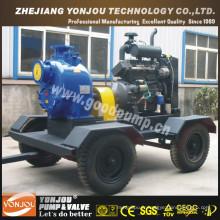 Pompe auto-amorçante à entraînement par eau diesel