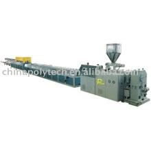 Chaîne de production de tuyau renforcée par fibre de PVC