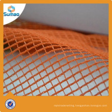 USA plastic orange mono wire safety net for construction machine