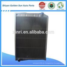 Setyr Truck Radiador WG9725531077 de la fábrica de cobre amarillo del radiador del latón
