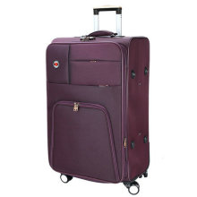 Poliéster suave incorporado carro de equipaje de viaje