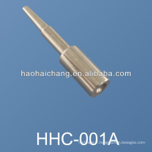 Fabricant CNC tour nickelé broches de connecteur en acier, broches de goujon