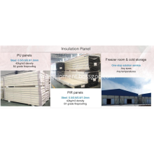 cold storage polyurethane foam sandwich panel