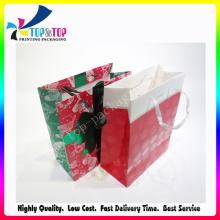 OEM Design Coated Paper Cosmetic Packaging Bag
