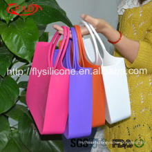 Latest Fashion Ladies Tote Silicone Jelly Handbags