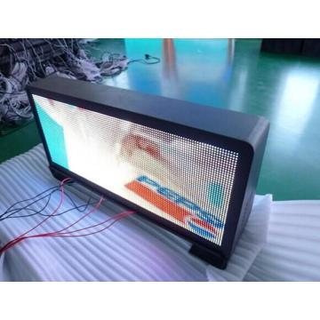 Display a LED per tetto per auto