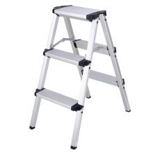Escaleras plegables Característica y escaleras domésticas Tipo taburete plegable plegable de aluminio