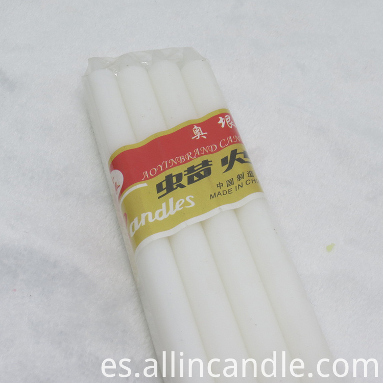 White Candle candles