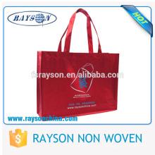 Projeto personalizado e logotipo que imprimem o saco laminado não tecido dos PP