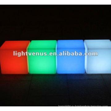 Цвет RGB изменяя свадьбы, вечеринки, атмосферу праздника создают светодиодные стул