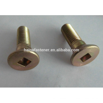 Color Zinc-plated Square or hex Socket Countersunk Head Bolt