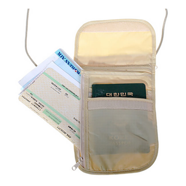 Blank Passport Holder