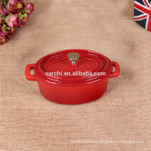 Morden restaurant equipment cast iron mini pot