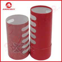 Customized Pierced Paper Tube Gift Packaging