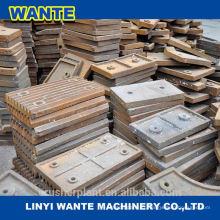 Pièces de concasseur en acier à manganèse à haute teneur en mâchoires en Chine Fabrication de marques Top 3 en Chine
