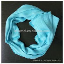 Tissu d'écharpe en coton à viscose sur mesure