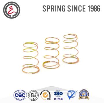Colored Zinc Small Compression Spring