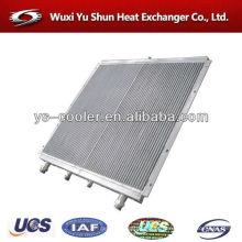 Carregadeira de rodas tanque de água com radiador para payloader / trocador de calor em ventilador de alumínio de refrigeração de ar