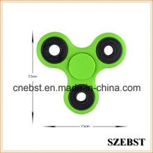 2017 Hot Sale 608 Ball Bearing Plastic Metal Colorful Fidget Spinner Hand Spinner