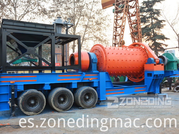 Portable Grinding Ball Mill