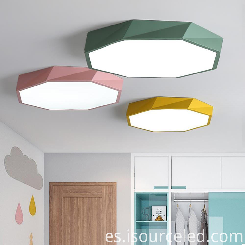 Bright led kitchen ceiling lights 26w round 40cm