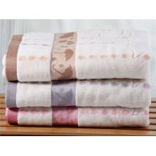 100% Cotton Yarn Dyed Jacquard Home Hotel Cotton Bath Towel