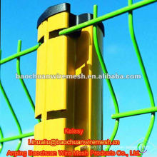 PVC coated welded road wire mesh fence