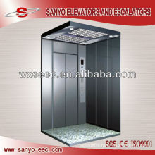 SANYO Hairline Stainless Steel Passenger Elevator