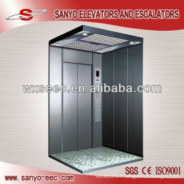 SANYO Hairline Stainless Steel Passenger Elevator