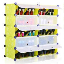 El estante para almacenamiento de imágenes de bricolaje calza el gabinete del estante