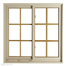 Nouvelle fenêtre coulissante en aluminium de conception avec le prix bon marché