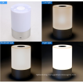 Portable Wireless Touch Sensor LED Lamp with Dimmable 3 Level Warm White Light & Six Color Changing RGB