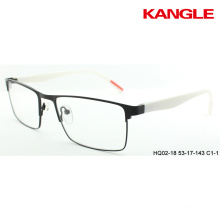Metal optical frames with TR90 temples eyeglasses ready stock eyewear