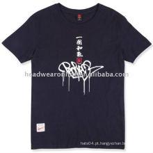 Camisas de poliéster t para homens com impressão