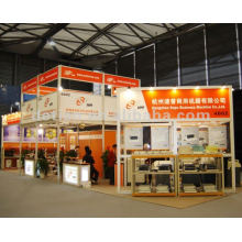 China exhibition booth design and China booth manufacture for AAPEX trade fair 2012
