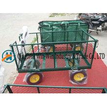 Carrinhos de carrinho de jardim de alta capacidade