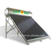 Tuyau évacué non pressurisé intégrée Eau chaude solaire avec norme SABS (24 TUBES)