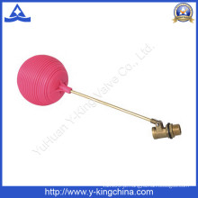 Válvula de esfera do flutuador com esfera plástica vermelha (YD-3015)