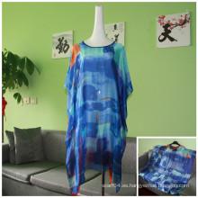La nueva blusa transpirable de la blusa del diseño cubre para arriba el bikiní