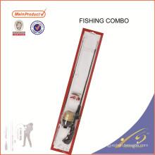 FDSF425 en gros de qualité solide canne à pêche tige Rod Rebo