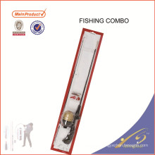 FDSF425 Wholesale Quality Solid Rod Fishing Rod Reel Combo