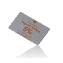 Cartão de Varejo / Cartão de Compras para Loja de Roupas / Farmácia
