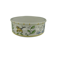 Ceramic Pet Cat Bowl (CZJM3130)